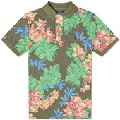 Polo Ralph Lauren Floral Print Slim Fit Polo in Multicoloured