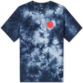 Edwin Japanese Sun 2 Tee in Navy