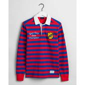 GANT Varsity Rugby Shirt in Red and Blue