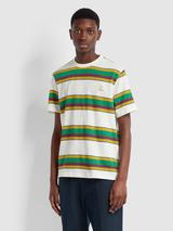 Farah X YMC Alexis T-Shirt In Off White in Multicoloured