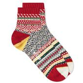 Chup Munter Sock in Red