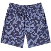 Nike Tech Camo Short in Blue