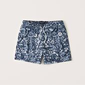 Pull-On Swim Trunks in Navy
