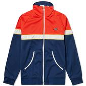 Adidas Track Top in Red and Navy