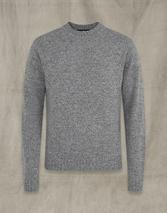 CASTLE CREW NECK in Grey