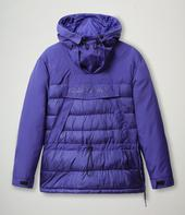 Circular Anorak in Blue