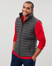 Go To Lightweight Padded Gilet in Grey