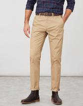 Slim Fit Chino Trousers in Brown