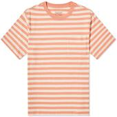 Patagonia Organic Cotton Midweight Pocket Tee in Orange and Neutral