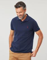 Woody Slim Fit Polo Shirt in Navy