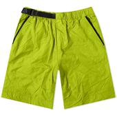 Nike Tech Woven Crinkle Short in Green