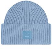 Acne Studios Pansy N Face Beanie in Blue