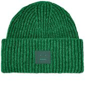 Acne Studios Pansy N Face Beanie in Green