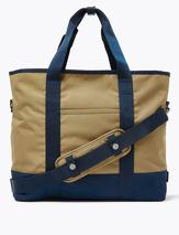 Pro-Tect™ Tote Bag in Green and Navy