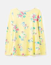 Harbour Light Swing Jersey Top in Yellow