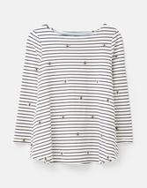 Harbour Light Swing Jersey Top in White