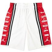 Air Jordan Basketball Short in Red and White