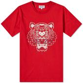 Kenzo Classic Tiger Tee in Red