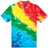 Polo Ralph Lauren Tie Dye Slim Fit Polo in Multicoloured