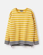 Uma Boat Neck Jumper in Yellow