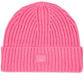 Acne Studios Pansy N Face Beanie in Pink