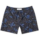 Norse Projects Hauge Print Swim Short in Navy