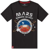 Alpha Industries Mission To Mars Tee in Black