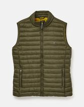 Go To Lightweight Padded Gilet in Green