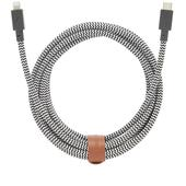 Native Union USB-C Lightning 3m Belt Cable in