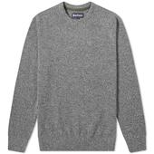 Barbour Tisbury Crew Knit in Grey