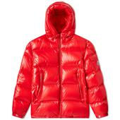 Moncler Ecrins Down Jacket in Red