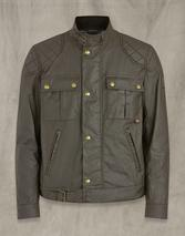 BROOKSTONE WAXED COTTON JACKET in Neutral