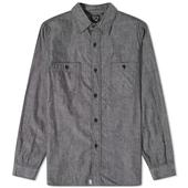 orSlow Work Shirt in Black