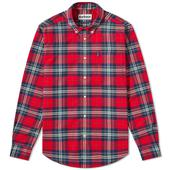 Barbour Highland Check 20 Tailored Shirt in Red