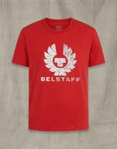 COTELAND 2.0 T-SHIRT in Red
