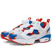 Reebok Instapump Fury OG in White and Blue