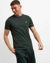 Ringer T-shirt in Green