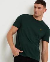 Plain T-shirt in Green