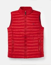 Go To Lightweight Padded Gilet in Red