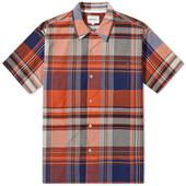 Norse Projects Carsten Madras Vacation Shirt in Multicoloured
