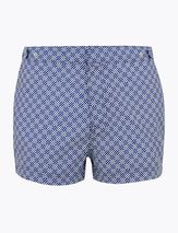 Geometric Print Swim Shorts in