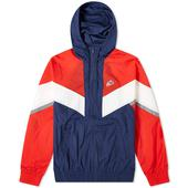 Nike Heritage Windrunner Jacket in Red, White and Navy