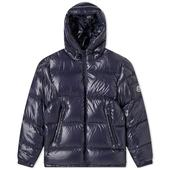 Moncler Ecrins Down Jacket in Navy