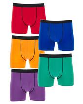 Pack of 5 Brights Hipsters in Yellow, Purple, Red, Green and Blue
