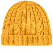 Inverallan Aran Hat in Yellow