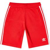 Adidas 3-Stripe Short in Red