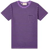 Levi's Vintage Clothing 1950s Sportswear Tee in Purple and Black