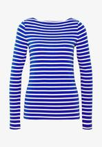 BOAT - Long sleeved top in Blue