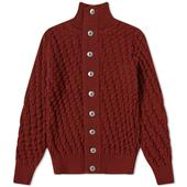 S.N.S. Herning Stark Cardigan in Red