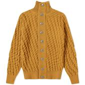 S.N.S. Herning Stark Cardigan in Yellow